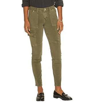 Silver Jeans Co. Women's Mid Rise Skinny Cargo
