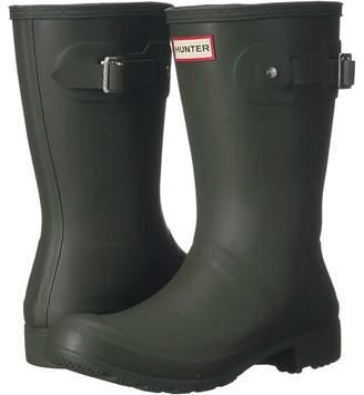 Hunter Tour Short Packable Rain Boots Women's Shoes