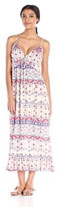MinkPink Women's Western Wonder Maxi Dress