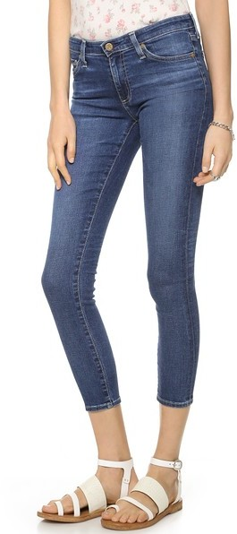 AG Jeans The Middi Ankle Skinny Jeans