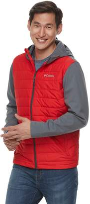 Columbia Big & Tall Oyanta Trail Thermal Coil Colorblock Hooded Hybrid Jacket