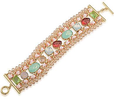 CaroleeCarolee Cosmopolitan Club Statement Line Bracelet