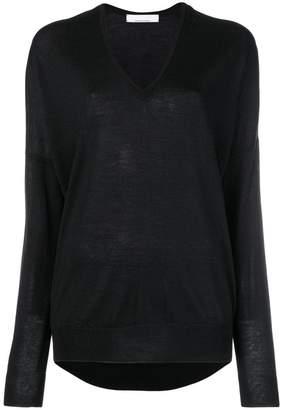 Jean Paul Gaultier Knott oversized V-neck sweater