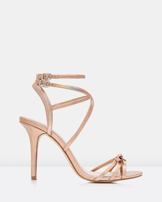 Forever New Olena Slim Bow Strappy Sandals