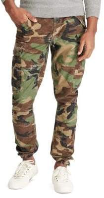 Polo Ralph Lauren Slim-Fit Camo Cargo Cotton Pants