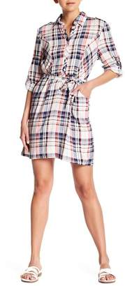 Couture Simply Belted Plaid Tunic