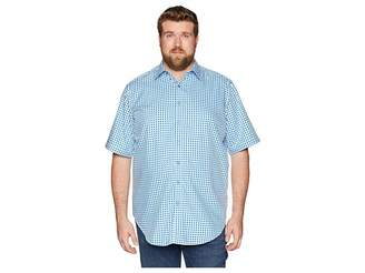 Robert Graham Big Tall Morales Short Sleeve Woven Shirt Men's Clothing