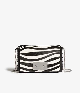 Karen Millen Flap-Front Crossbody Bag
