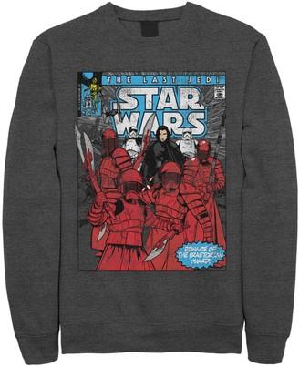 Star Wars Licensed Character Men's The Last Jedi Elite Praetorian Guard Comic Cover Fleece