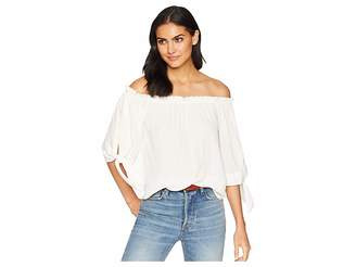 BCBGMAXAZRIA Off Shoulder Top Women's Clothing