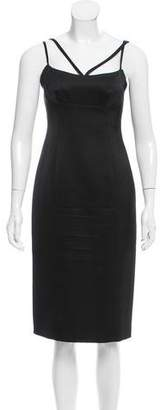 Marc Jacobs Wool & Silk-Blend Bodycon Dress