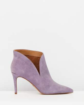 Topshop Hicks Suede Ankle Boots