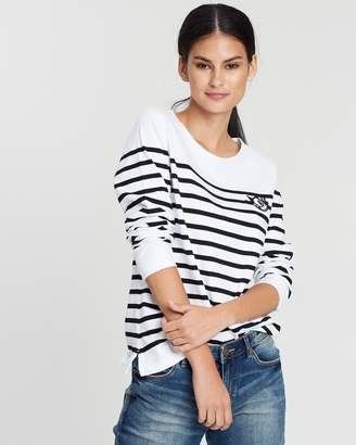 Scotch & Soda Felix The Cat Classic Breton Top