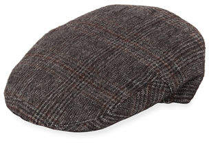 Neiman Marcus Men's Ivy Tweed Driver Hat
