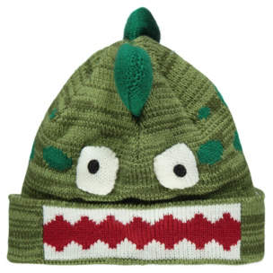 George Green Dinosaur Novelty Beanie Hat