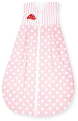 Pinolino Sleeping Bag winter 'Gluckspilz pink' 90cm