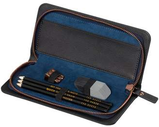 Ted Baker Black Brogue Pencil Case