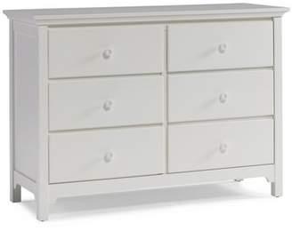 Tiamo Ti Amo Ready to Assemble Double Dresser - Snow White