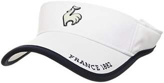 Le Coq Sportif (ル コック スポルティフ) - (ルコックスポルティフゴルフ) le coq sportif/GOLF COLLECTION ボウシ QGCLJC51 WH00 WH00(ホワイト) F