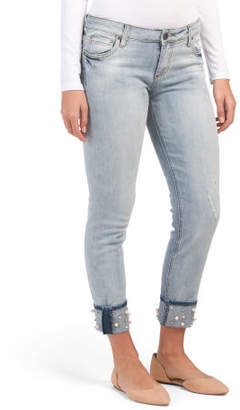 Catherine Boyfriend Wide Cuff Jeans