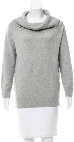 Alexander Wang T by Alexander Wang Rib Knit Turtleneck Sweater