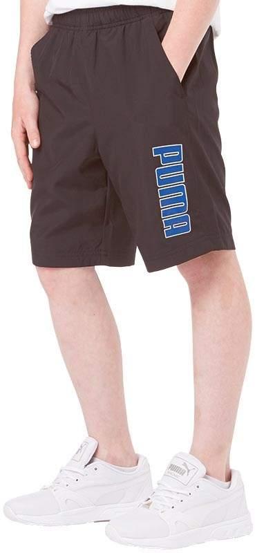 Junior Boys Graphic Woven Bermuda Shorts Black/Surf