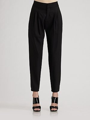 Helmut Lang Oversized Tapered Pants