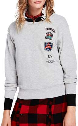Scotch & Soda Applique Sweatshirt