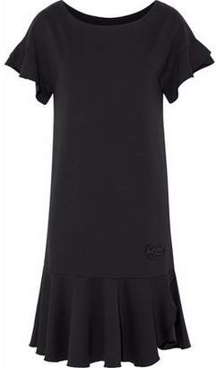 Love Moschino Fluted Embellished Jersey Dress