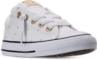 Converse Little Girls' Chuck Taylor Street Ox Casual Sneakers from Finish Line