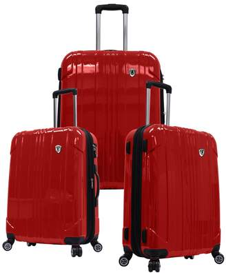 Traveler's Choice Travelers Choice 3-Piece Sedona Hardcase Luggage Set