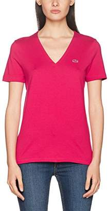 Lacoste Women's Tf8908 Fit Slim T-Shirt,(Manufacturer Size: )