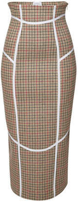 Stella Jean Tunibo Houndstooth Pencil Skirt