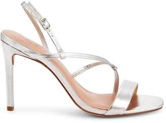 Halston Isla Stiletto Heel Leather Sandals