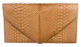 Hunting Season Python Envelope Clutch