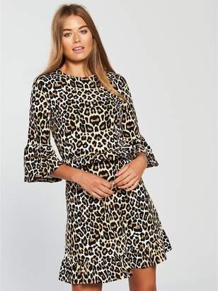 Very Frill Waist Jersey Dress