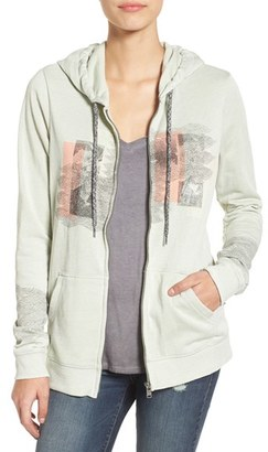Roxy 'Tropical Bazaar' Zip Hoodie $44.50 thestylecure.com