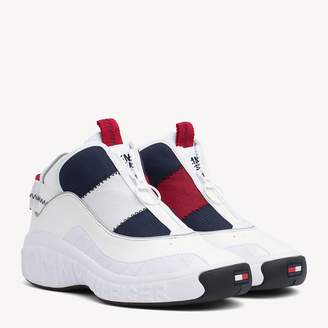 Tommy Hilfiger Contrast Zipped Trainers e7a10bb2b