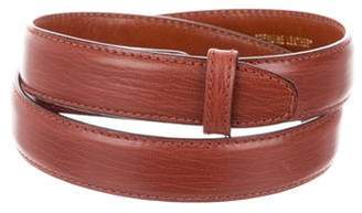Kieselstein-Cord Leather Belt Strap