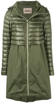 Herno midi puffer coat