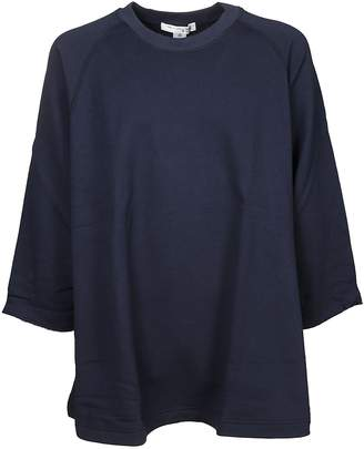 Comme des Garcons Logo Printed Oversized Sweatshirt