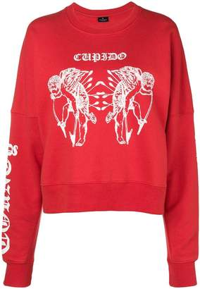 Marcelo Burlon County of Milan Cupid print sweatshirt