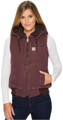 Carhartt Weathered Duck Wildwood Vest Women's Vest
