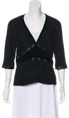 Etro Angora-Blend Knit Jacket
