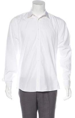 Gucci Woven Slim-Fit Shirt