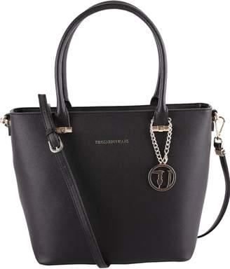 Trussardi Levanto Saffiano Faux Leather Tote Bag