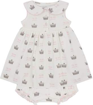 Rachel Riley Princess Crown Dress with Bloomers