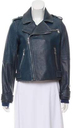 Marc by Marc Jacobs Distressed Leather Jacket w/ Tags