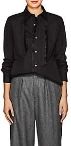 Comme des Garcons Women's Ruffled Cotton Tunic-Black
