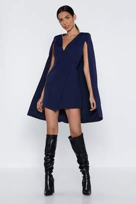Nasty Gal Not All Heroes Wear Capes Blazer Dress